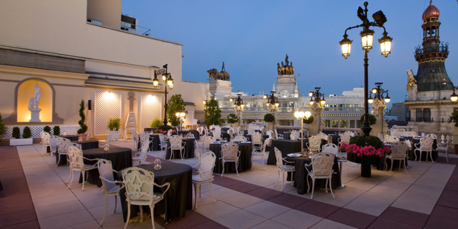 La terraza del casino. Estrellas Michelín